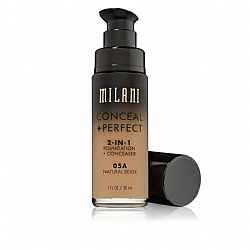 MILANI CONCEAL + PERFECT 2-IN-1 FOUNDATION + CONCEALER 05A