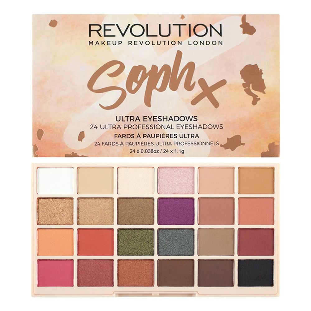 Revolution Soph X Eyeshadow Palette.