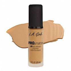 L.A. GIRL PRO Matte Foundation Natural