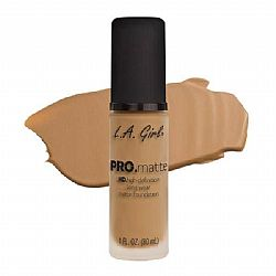 L.A. GIRL PRO Matte Foundation Medium Beige