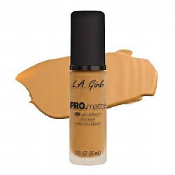 L.A. GIRL PRO Matte Foundation Soft Honey
