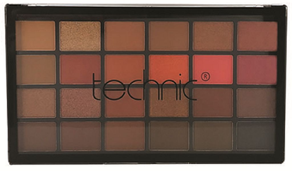 TECHNIC X 24 MAKEUP PALETTE THE HEAT IS ON