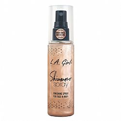 L.A. GIRL NEW Shimmer Spray Rose Gold