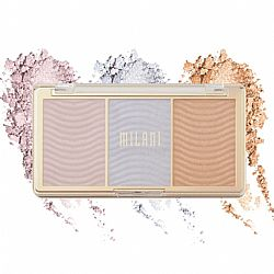 Milani STELLAR LIGHTS HIGHLIGHTER PALETTE - HOLOGRAPHIC BEAMS
