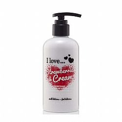 I Love Strawberries and Cream Body Lotion 250m
